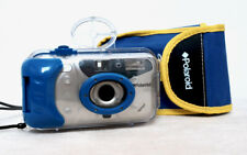 Vintage POLAROID SPLASH 35mm film point and shoot camera with case