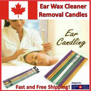 Hopi Ear Wax Candles Cleaner Removal Fragrance Hollow Healthy Care Set Hopi Lot