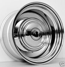 "SALE 15"" x 8"" SMOOTHIE CHROME WHEELS HOLDEN CHEV HQ Hj WB FORD XT XA deep dish"
