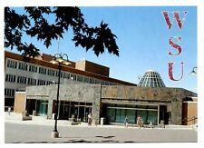 WSU Postcard Washington State University Library Addition to Holland Opened 1994