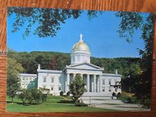 Postcard Unused Vermont, Montpelier-Capitol Of The Green Mountain State