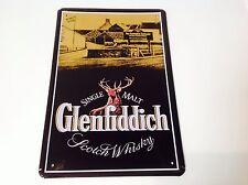 GLENFIDDICH WHISKY Metal Poster Bar Pub Tavern Picture  Sign Tin Plaque MALT