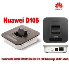 Huawei D105 3g Wireless Router transforms USB 3G E1831 E220 E170 E160 E169 E172