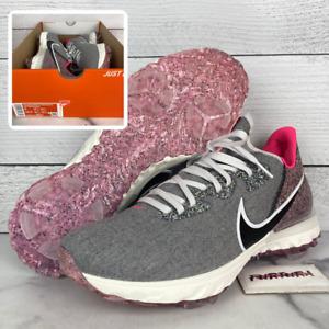 Nike Air Zoom Infinity Tour NRG M21 Men's Size 9 Grey Shoes DD9596-100 No Lid