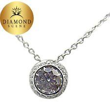 DIAMOND ROUND BRILLIANT SH 1.07 CT PAVE SIDE DIAMOND R