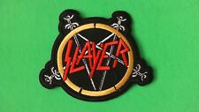 SLAYER BAND LOGO IRON ON PATCH NEW BIG 4 METALLICA MEGADETH ANTHRAX