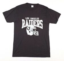 Vtg 1980s LA Raiders T-Shirt Large marcus allen oakland california Champion Lbl