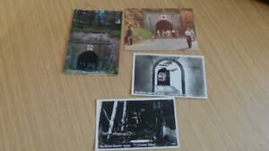 AQ536: Small Collection of jersey Postcards - WW2 German Hospital x 4 Unused