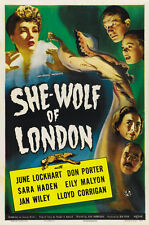 She-Wolf of London (1946) Cult Horror movie poster print