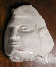 Marble Sculpture by IRENE KOLDORF of Female Head, ORIGINAL, LISTED NJ Artist