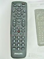 NEW ORIGINAL Philips SRP1103 Universal Remote Control DVD,VCR,SAT,DTV,CABLE,BLUE