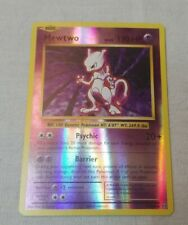 Vintage Shiny Mewtwo Card In Case