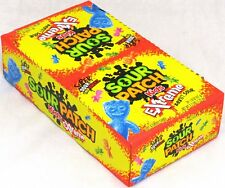 Sour Patch Kids Extreme Sweet and Sour Chewy Candy Gummy Box of 24 Packs 2.7LBS