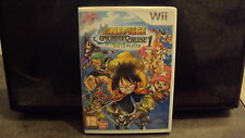 NINTENDO - Jeu WII: ONEPIECE Unlimited cruise 1 - complet