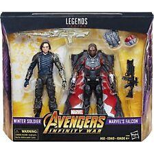 Marvel Legends Avengers 3 Infinity War Winter Soldier Falcon 2-Pack TARGET New