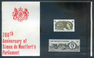 The Great Britain 1965 700th Anniv. of Parliament pack, fine (2020/07/19#06)