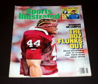 SPORTS ILLUSTRATED JANUARY 5 TH 1987 BRIAN BOSWORTH