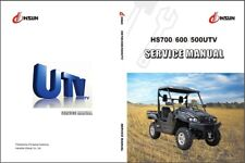 Hisun HS700 HS600 HS500 ( HS700UTV HS600UTV HS500UTV ) UTV Service Manual CD