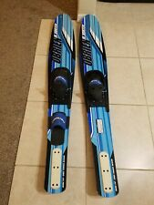 """New listing Obrien Jr Vortex Water Skies Combo Slalom And Double Skies.53"""""""
