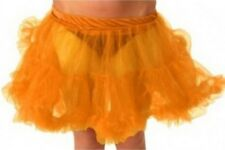 Short frilly net rara skirt rahrah 80s cheerleader cheerleading miniskirt large