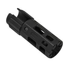 NCSTAR VAM1022B RUGER 10/22 TACTICAL BLACK STEEL MUZZLE BRAKE W/CRUSH WASHER