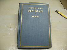 VICTOR  HUGO  RUY BLAS HC  1933  D. C. HEATH & CO.