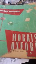 MORRIS OXFORD SERIES ll BOOK WITH EXTRA SHEET SEE PHOTOS     (255)