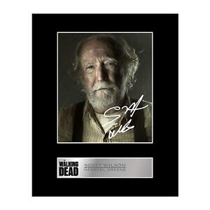 Scott Wilson, Hershel Greene Signed Mounted Photo Display The Walking Dead
