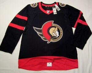 OTTAWA SENATORS size 46 = Small - 2021 Home ADIDAS NHL Aeroready HOCKEY JERSEY