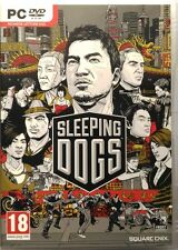 Gioco Pc Sleeping Dogs - Square Enix 2012 Usato