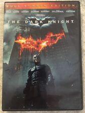 The Dark Knight (DVD, 2008, Full Frame) Free Shipping