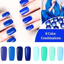 RA Gellack Nagellack Farben Blau Nail Polish Nagellacke UV Gel Lacke Maniküre