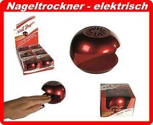 2 x Nageltrockner Batterie Nail Dryer Maniküre Nagellack Nagelgel Trockner TOP