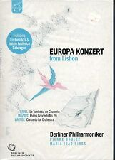 EUROPA KONZERT FROM LISBON - PIERRE BOULEZ BERLINER PIRES - DVD NUOVO SIGILLATO