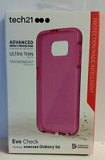 Tech21 - Evo Check Case for Samsung Galaxy S6 Cell Phones - Pink