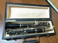USSR Clarinet Musical instrument 1986 case