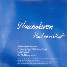 PAUL VAN VLIET - Vlaanderen 5TR CDS + KOEN WAUTERS / KABOUTER PLOP / BIG & BETSY