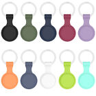 Protective Case Silicone Shell Cover Sleeve With keychain for Airtag Locator