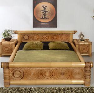 Bambusbett 160x200 Rizal Bambus Bett Doppelbett Holzbett Bettgestell Wasserbett