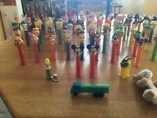 Pez Dispenser Lot (Many Vintage and rare collectible pez dispensers)