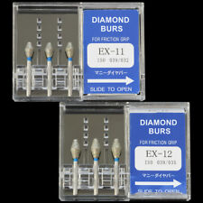 10 Boxes EX-11 MANI DIA-BURS Dental High Speed Handpiece Diamond Burs all Types