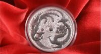 2017 Australian dragon and Phoenix 1oz silver coin  Minted 50,000 only *USD$51*