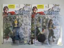 SET OF 2 MOC 2001 CAPCOM YAMATO MAXIMO ACTION FIGURES ZOMBIE AND QUEEN SOPHIA