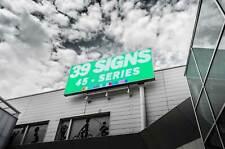 "Outdoor LED Sign 45"" full color, programmable, weatherproof digital billboard"