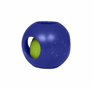 Jolly Pets Teaser Ball 10-Inch Blue 8 inches