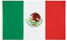 PRINGCOR 3x5FT MEXICO FLAG LARGE MEXICAN LATIN LATINO
