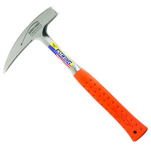 Estwing Rock Pick - 22oz Geological Hammer Pointed Tip & Shock Reduction