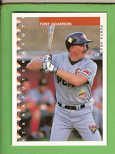 1995 AUSTRALIAN BASEBALL CARD #21  TONY ADAMSON, PERTH HEAT