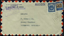 Colombia 1934 Manizales To UK Airmail Cover #C40585