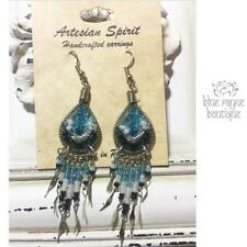 Silk Strung Handcrafted Earrings from Peru Bohemian Gypsy Hippie Jewelry 02